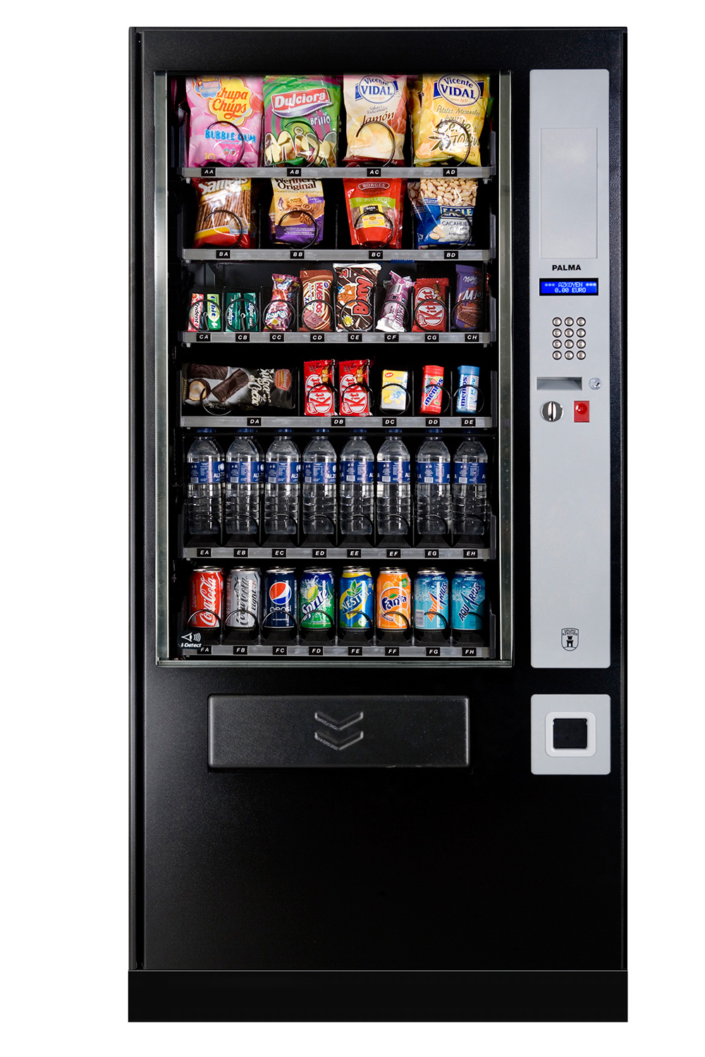 saeco vending machine